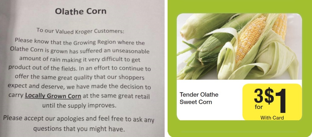 Supermarket Apologizes For Selling Locally-Grown Produce