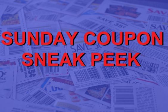 Sunday Coupons – 7/30/17