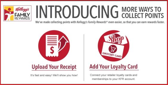 Big Changes to Kellogg's Family Rewards