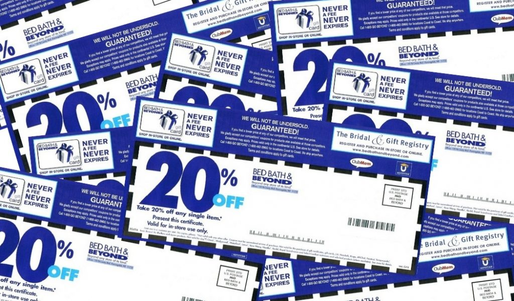 Bed Bath & Beyond Cuts Back on Coupons – For Real This Time