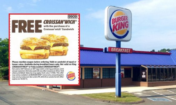Burger King Sued Over Croissan'wich Coupon Con