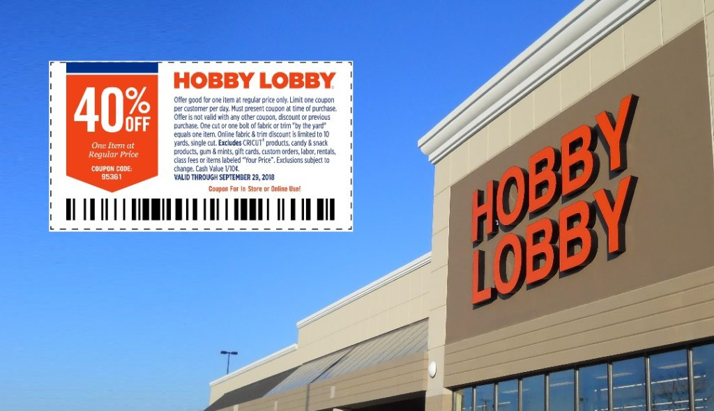 Jury to Decide If Hobby Lobby's Coupons and Pricing Are Deceptive and Misleading