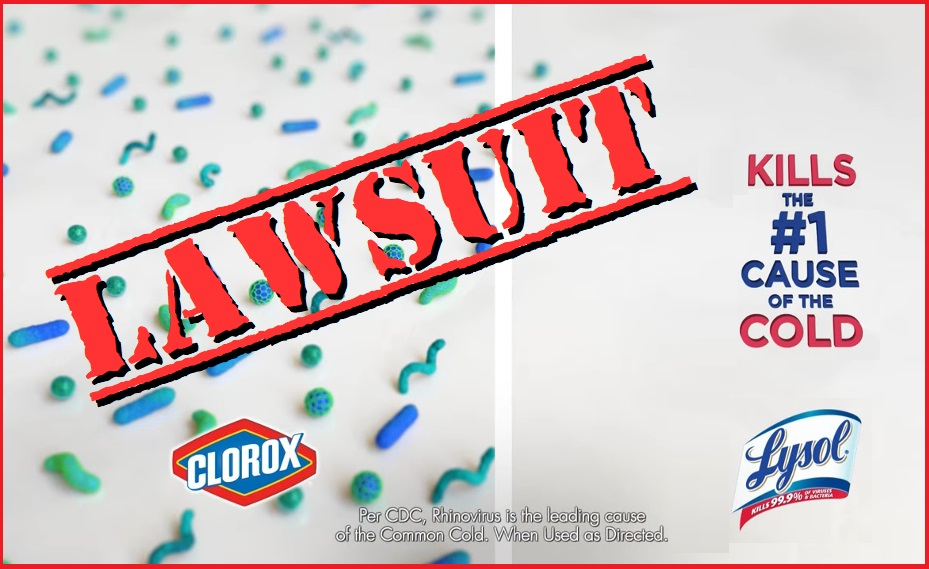 Clorox Lawsuit Accuses Lysol of Playing Dirty in Comparing Cleansers